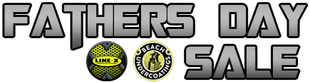 LINE-X of Virginia Beach & Beach Undercoatings Father's Day Sale
