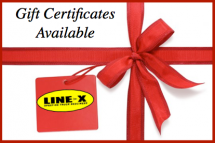 Holiday LINE-X Gift Certificate Promotion