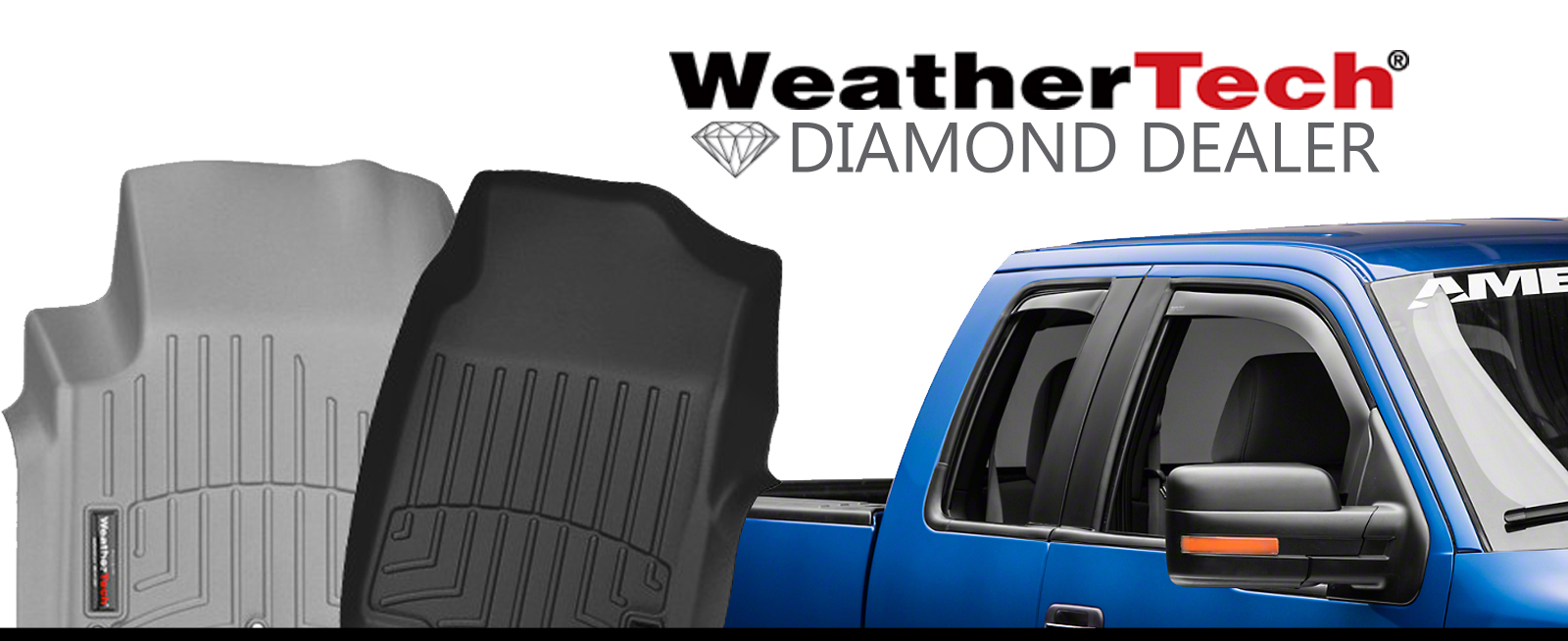 WeatherTech Diamond Dealer