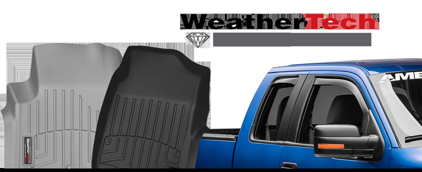 Weathertech Virginia Beach Truck Accessories Line X