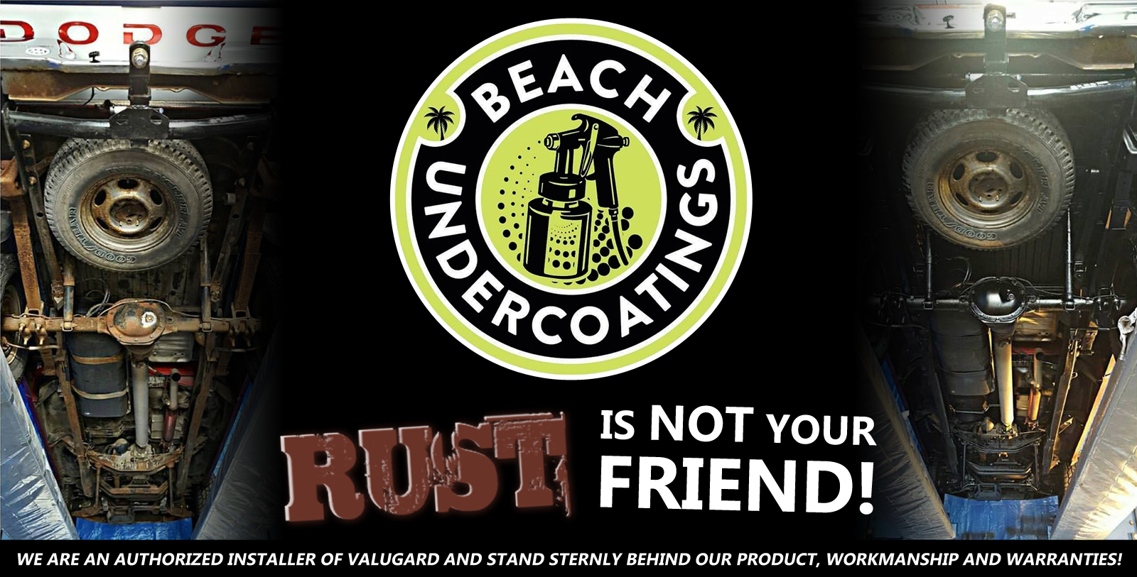 Beach Undercoatings in Virginia Beach, Virginia - Rust is Not Your Friend